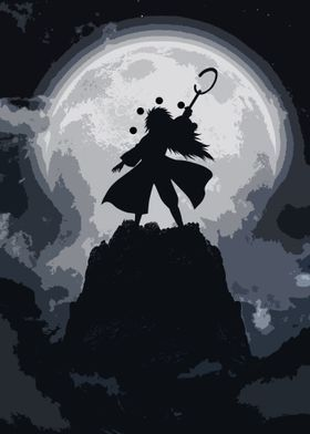 Metal Poster Moon Fight 3