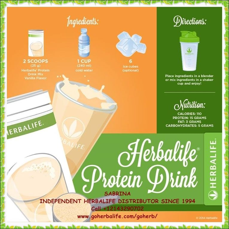 Enjoy Your Herbalife Formula 1 Protein Healthy Meal Shake Try A Different Recipe Every Day High In Nutrie Herbalife Recipes Herbalife Shake Recipes Herbalife