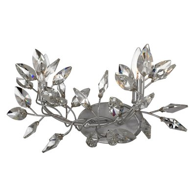 Everly Quinn Bosley 2 Light Branch Wall Sconce Wall