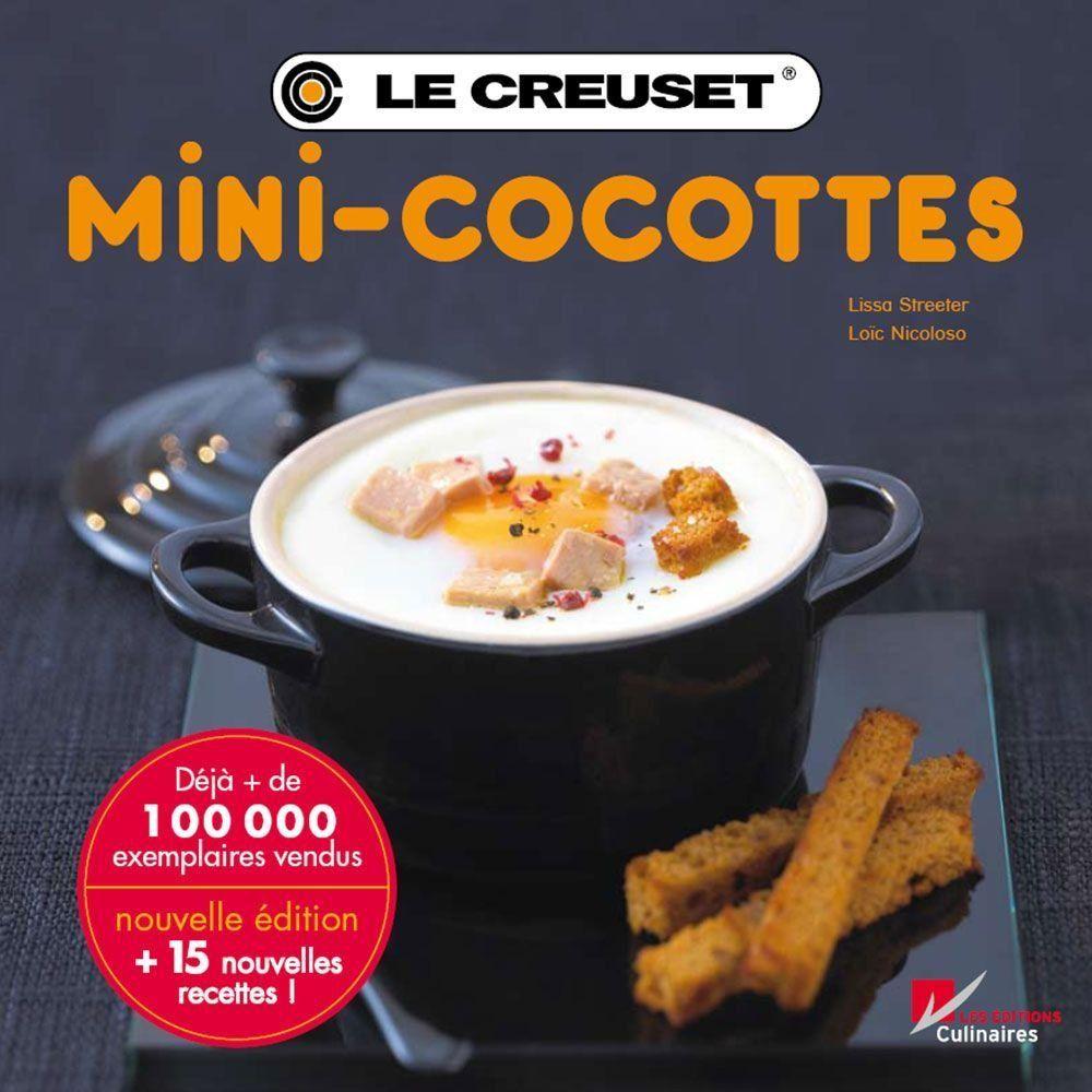 Mini cocottes livre de recettes Tome 2 Le Creuset