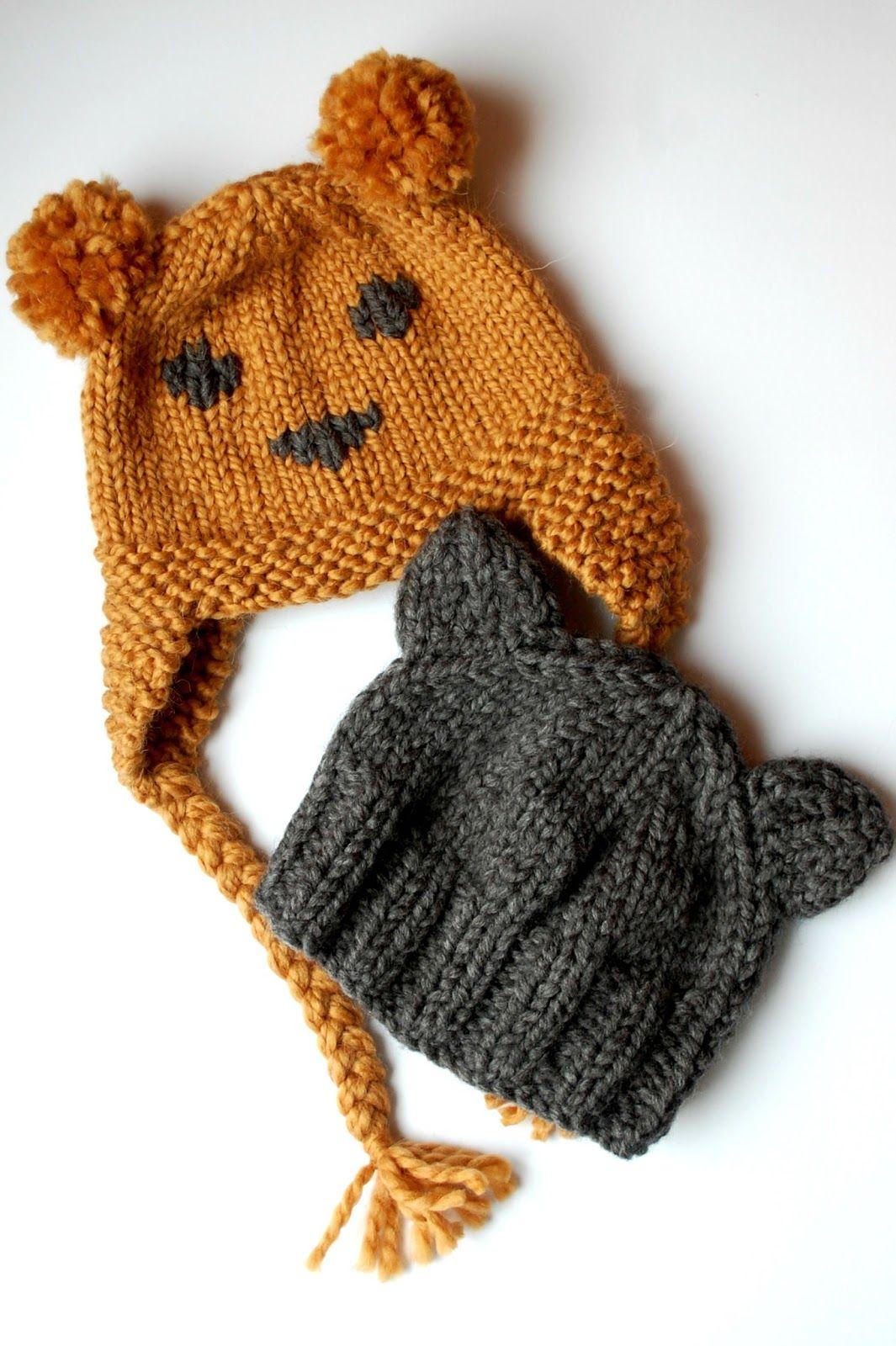 the geeky knitter: free knitting patterns - teddy bear hats A blog ...