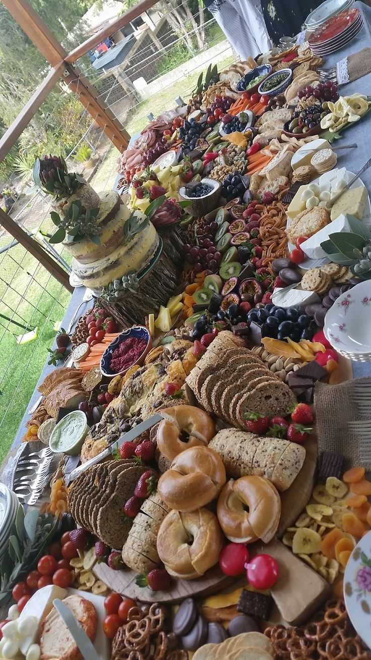 Photo of Grazing table created for my mama blessing