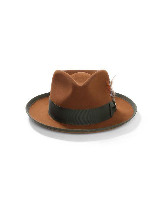 Freemont - Walrus Hats Black Wool Fedora Hat  37f46cb416e7
