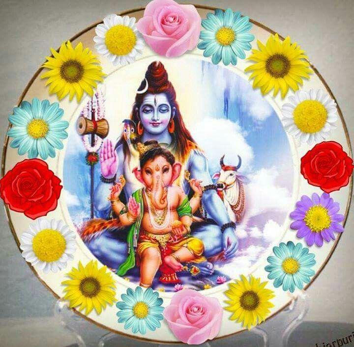 Shiv with Baby Ganapati