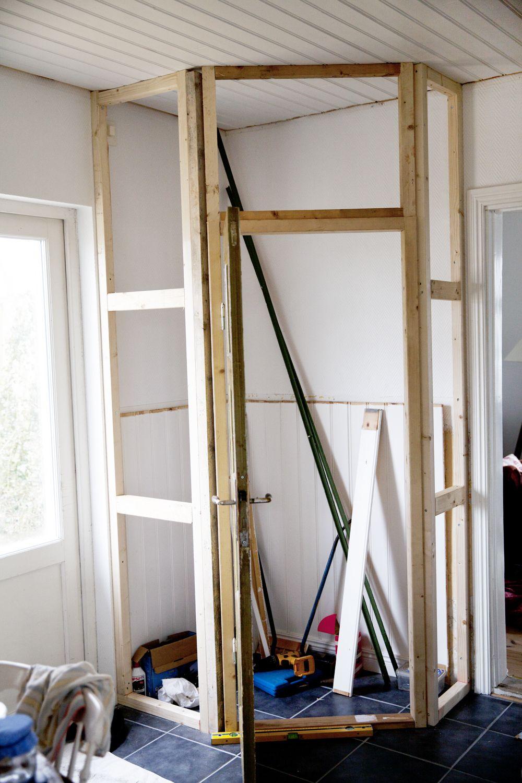 DIY: walk in skafferi!