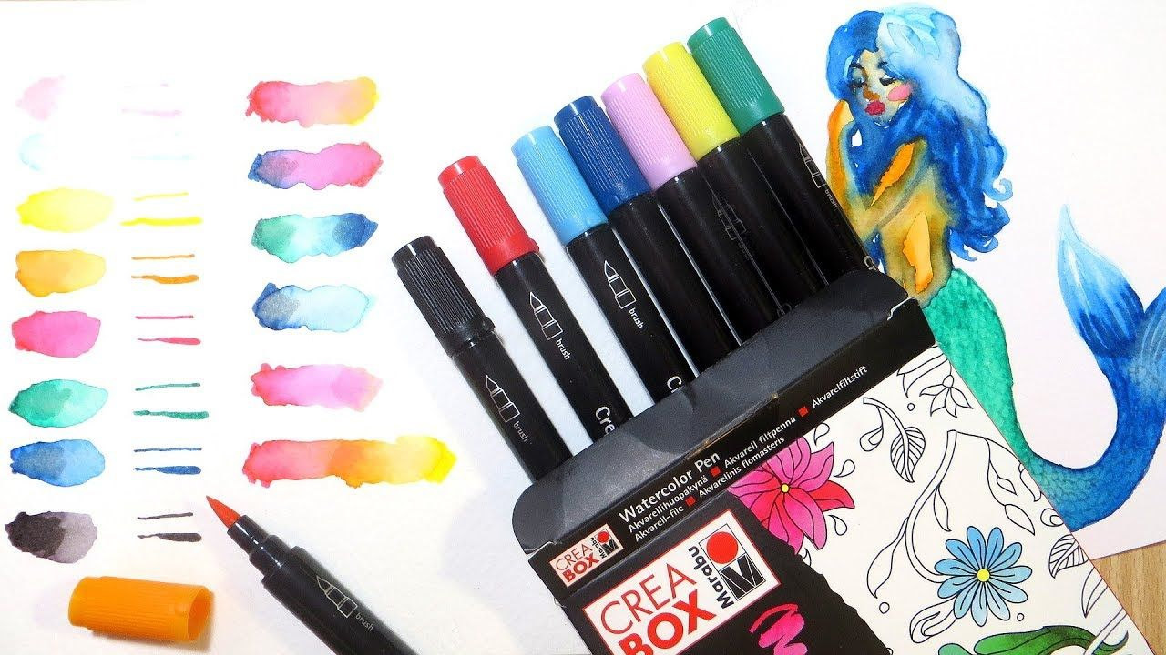 Akashiya Sai Watercolor Brush Pens Review