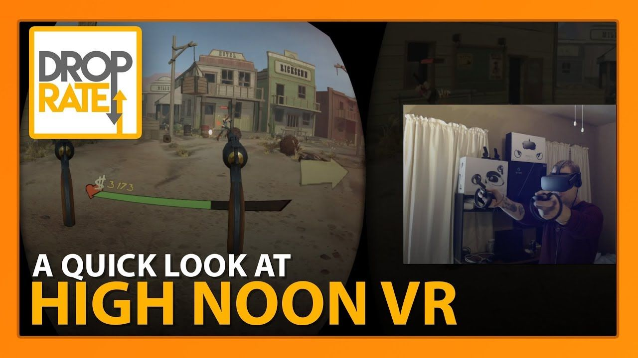 Quick Look: High Noon VR (Oculus Rift) | High noon, Oculus ...