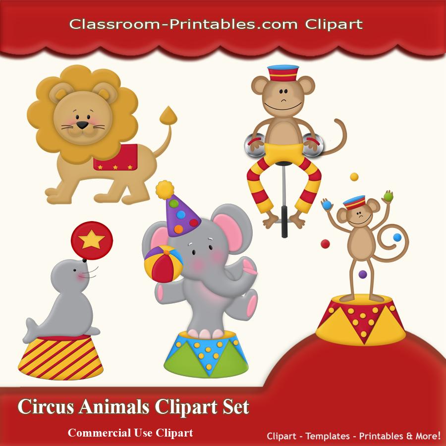 Circus Animals Clip Art Clipart Free Clipart Circus Crafts Animal Clipart Circus Animals