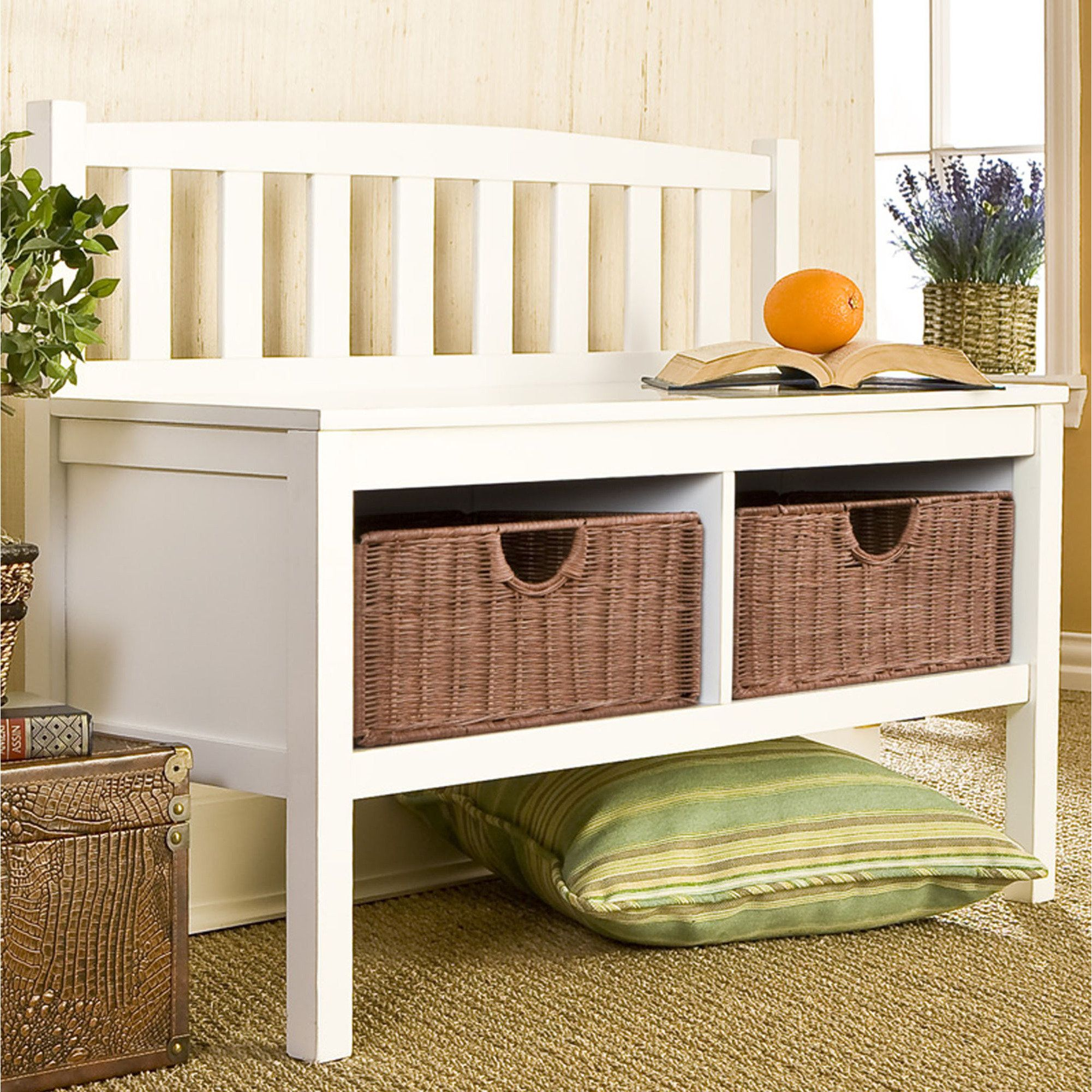 Lakehurst Storage Bench - for the front hallway?