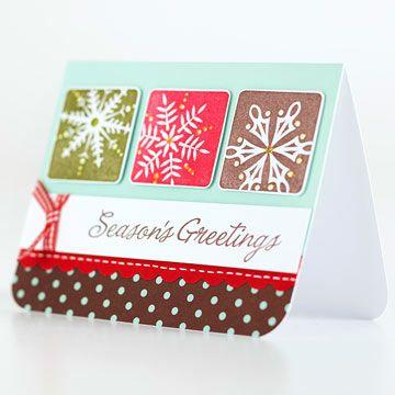 Season\u0027s Greetings Christmas Card - BHG Cards Pinterest Cards