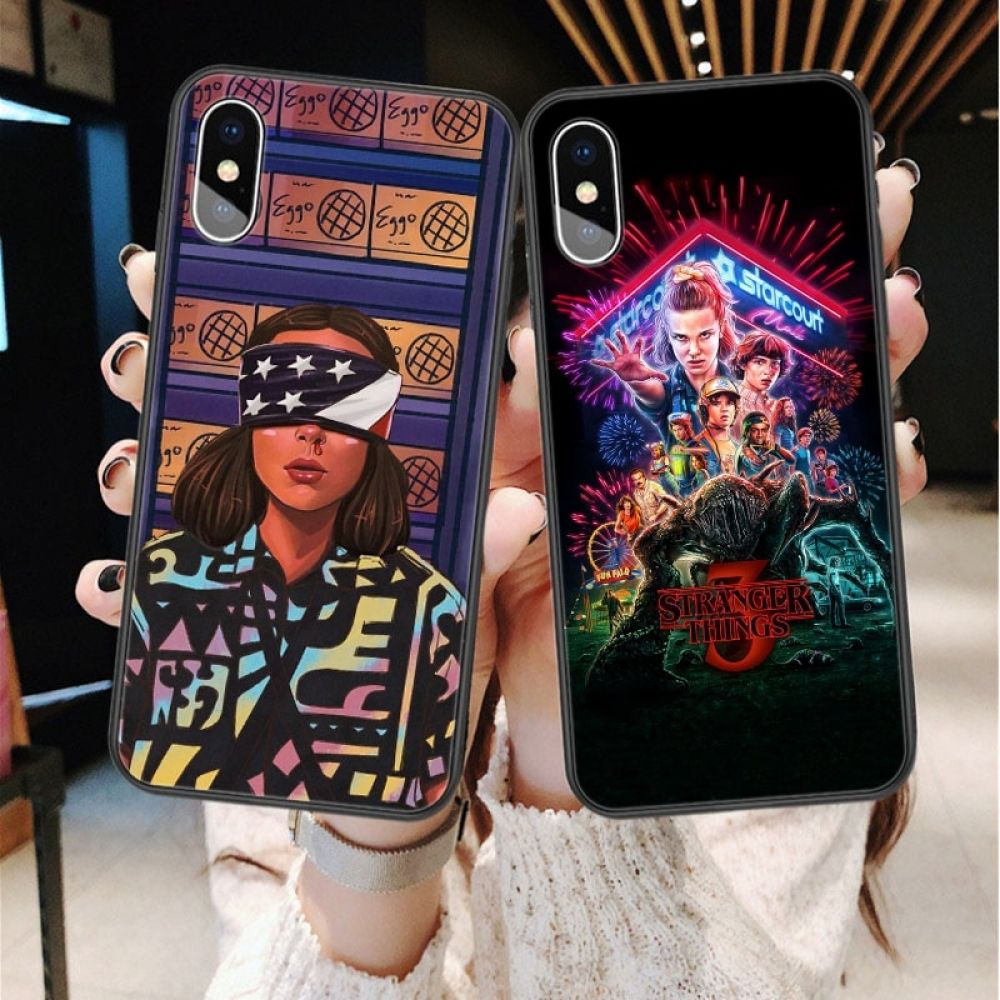 Stranger Things Season 3 Soft silicone TPU Phone Case For iphone 11 Pro Max…