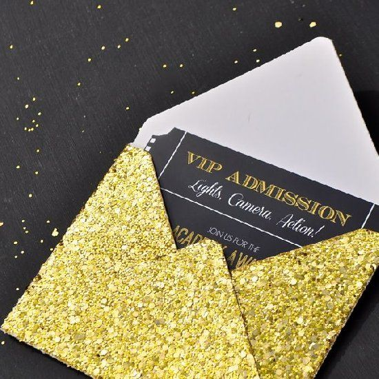 Print these free Oscar ticket invitations for your Oscars party – Party Invitation Envelopes