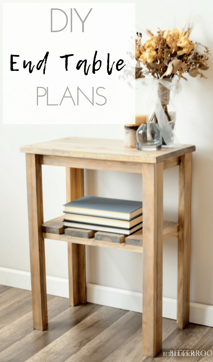 Weathered Rustic End Table With Weatherwash Stain Diy