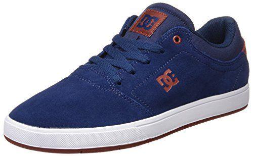 DC ShoesCRISIS TX M Shoe - Zapatillas Hombre, Color Azul, Talla 43