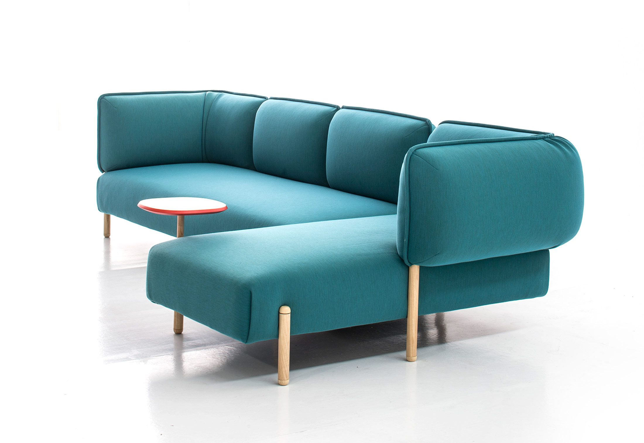 (Love Me) Tender Turquoise Sectional Sofa By Patricia Urquiola For Moroso.