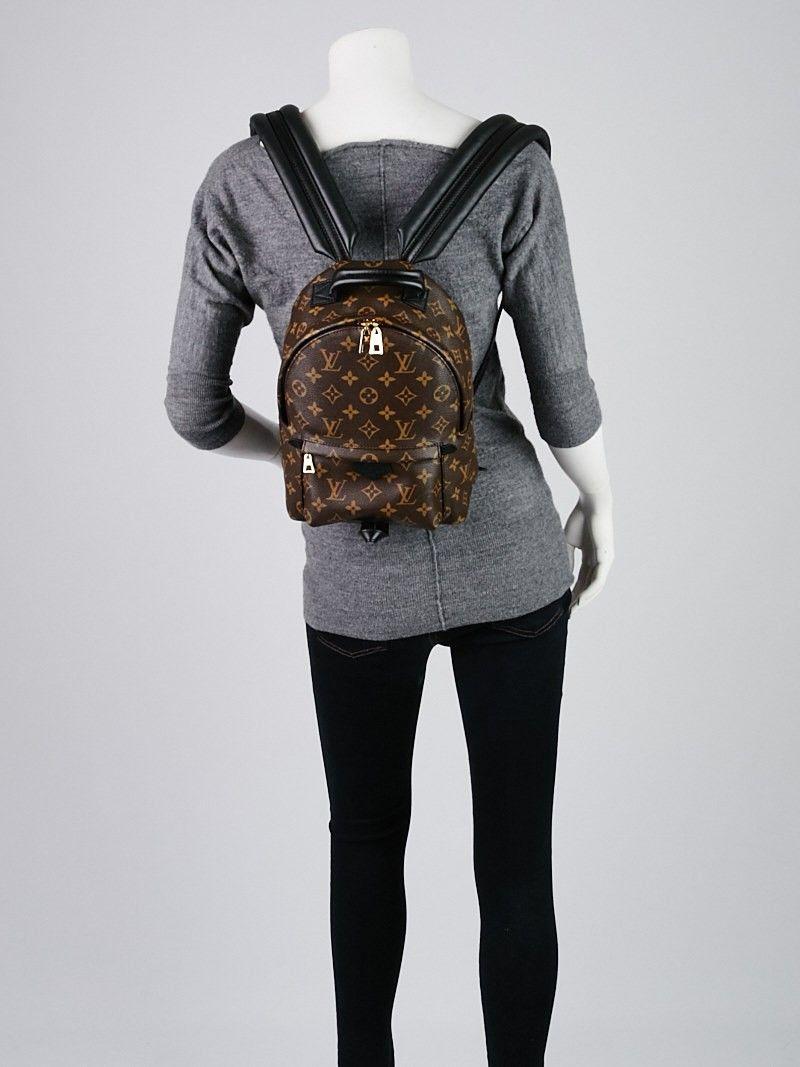 9a7b5ca34e1 Louis Vuitton Monogram Canvas Palm Springs Backpack PM Bag | Things ...