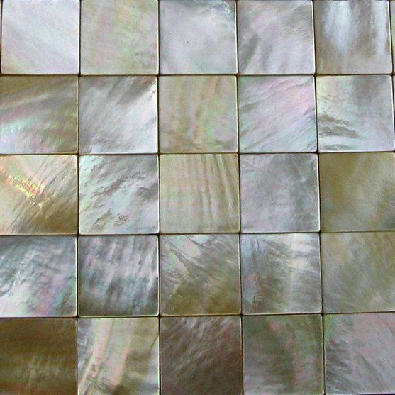 100 Naturlichen Muschel Perlmutt Goldene Shell Mosaik Fliesen Kuche