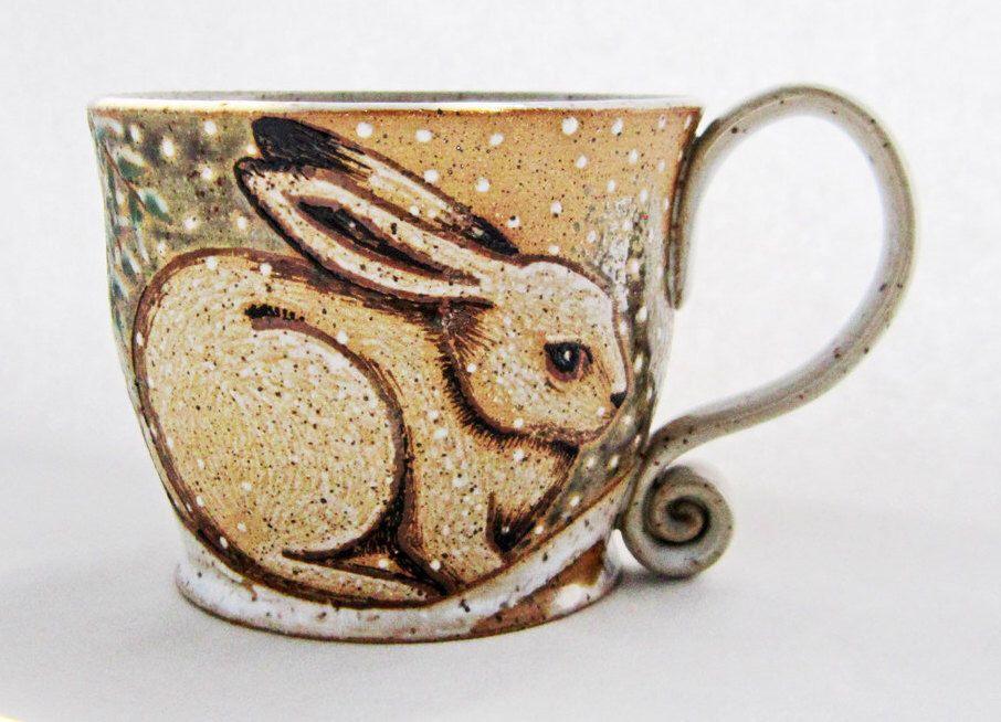 Winter Rabbit Mug ...