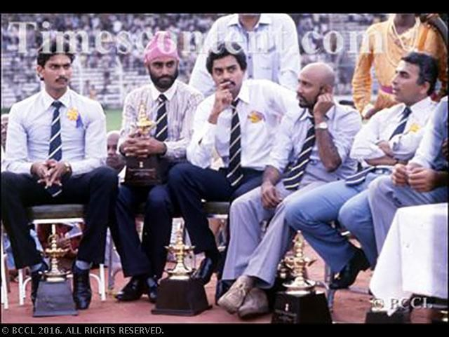 33 Years Since India S First World Cup Victory Rare Moments First World Cup World Cup Victorious