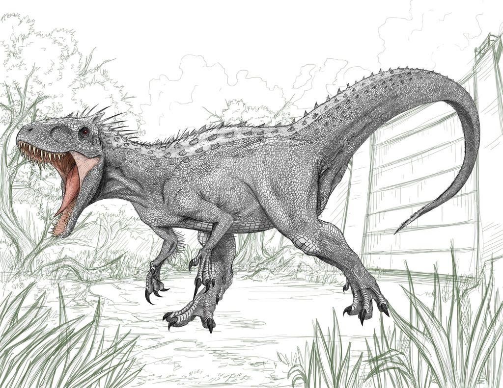 indominus rex by julius2611 deviantart com on deviantart
