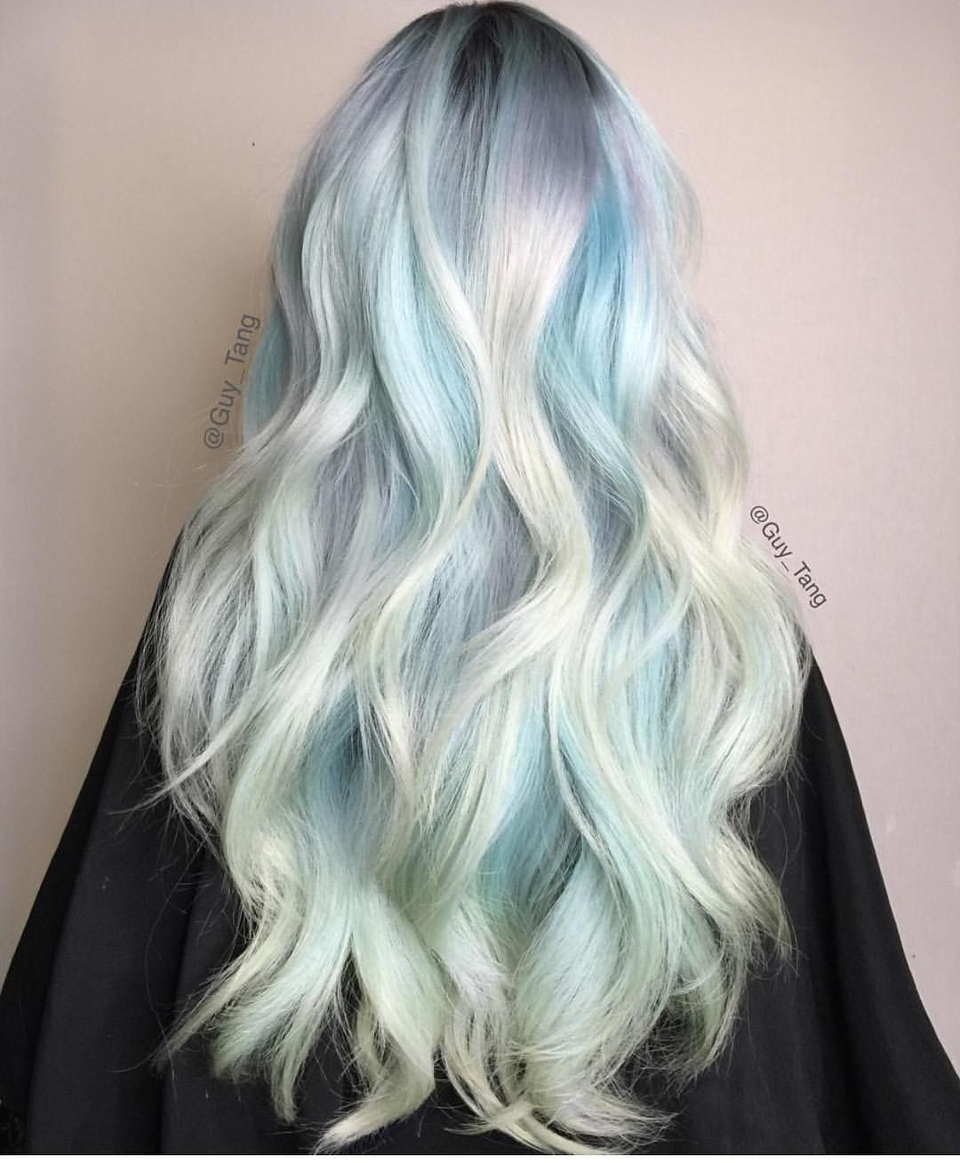 Cool boy hair dye frozen mint by guy tang  hair ideas  pinterest  guy tang guy and