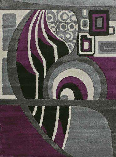 Grey And Plum Rug Plum Rug Rugs Purple Area Rugs