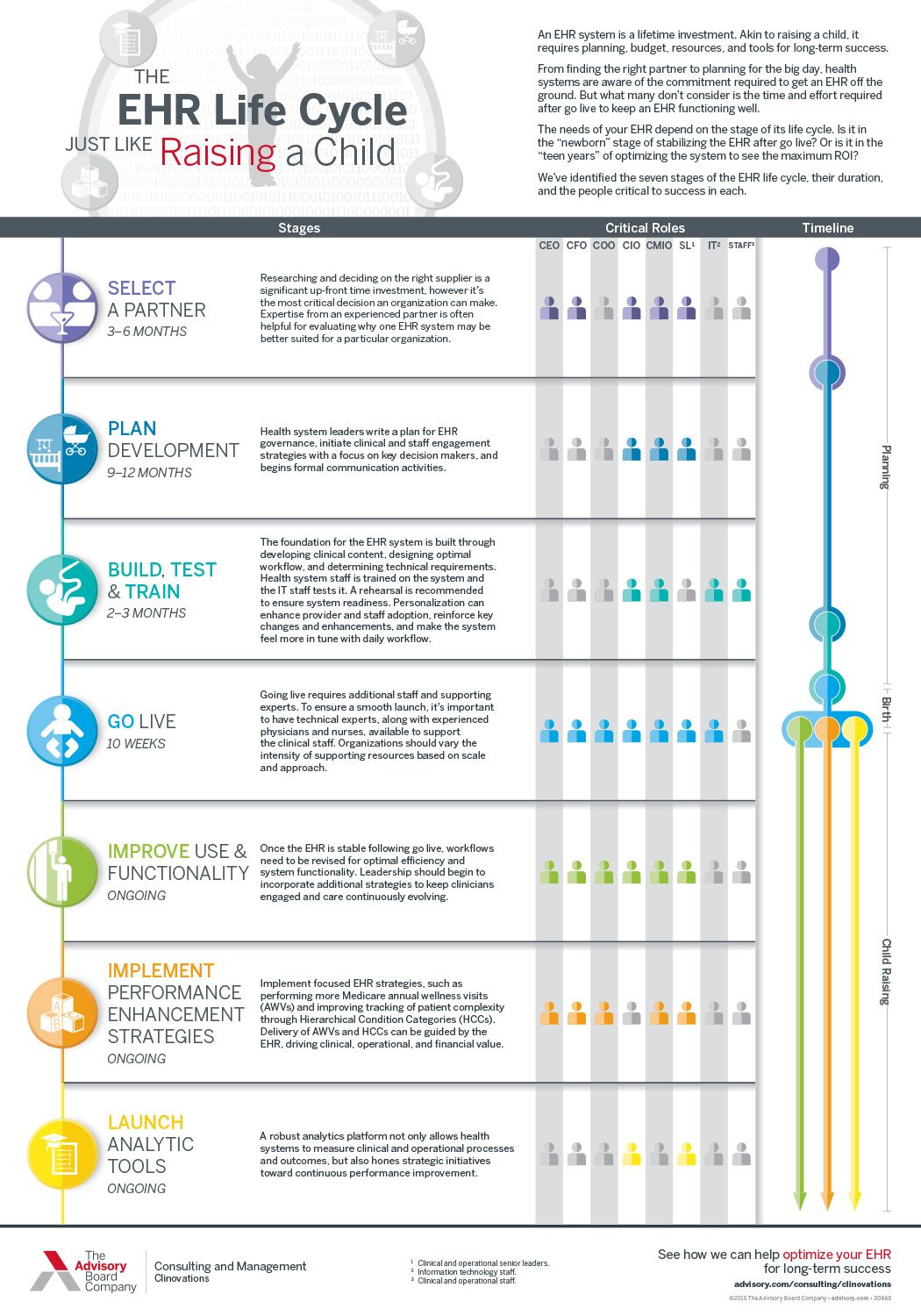 Learn More About The 7 Stages Of The Ehr Life Cycle Life Cycles