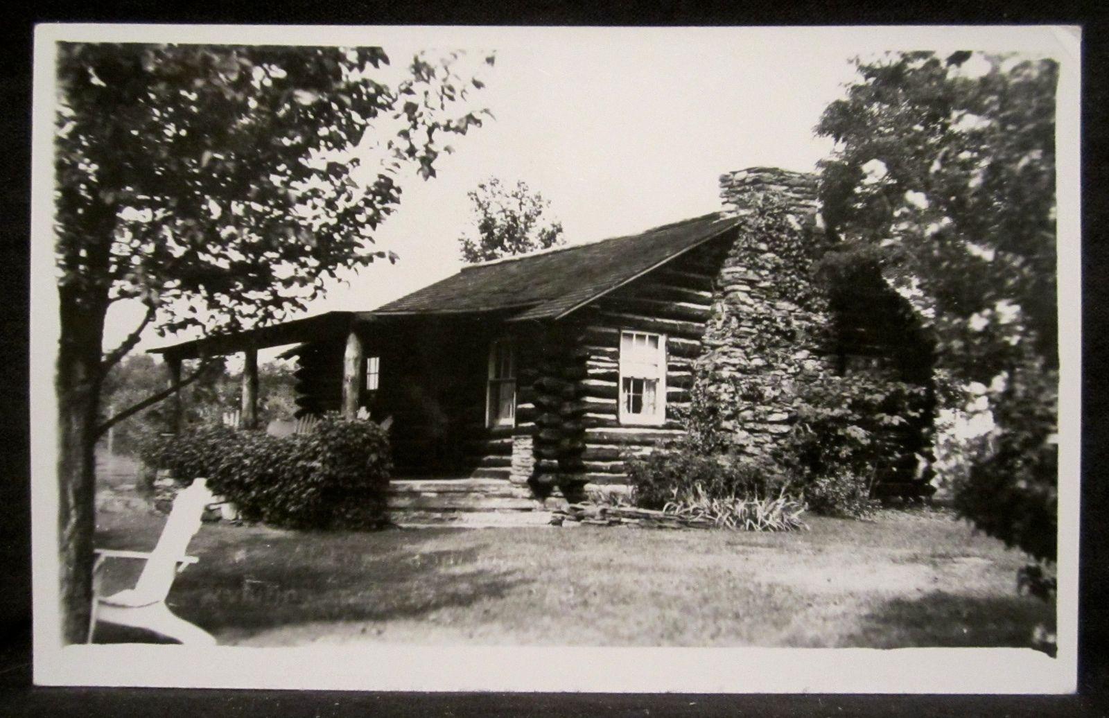 RPPC Log Cabin Inn Guest Cottage Hwy 6 Wyalausing PA Bradford County Penn | eBay
