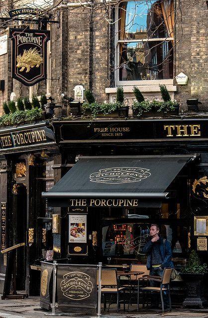 The Porcupine Pub  Shaftesbury Avenue - London #travel...