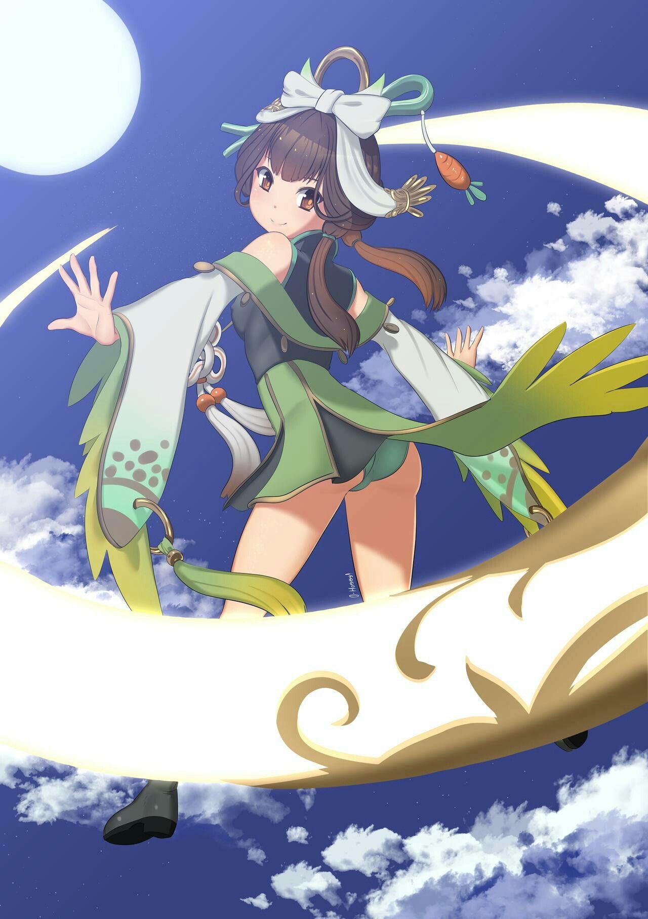 Gambar Seni anime oleh Ruby pada Mobile legends di 2020