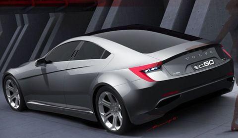 2015 Volvo SC90 Sports Sedan Concept