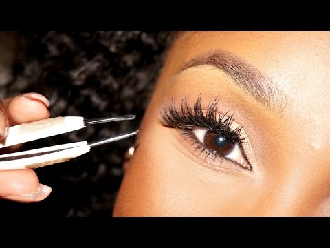 How To Apply False Lashes For Beginners BeautyBasics