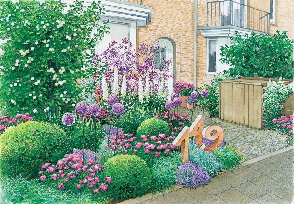 Vorgarten   Vorgarten gärten, Vorgartengestaltung und ...