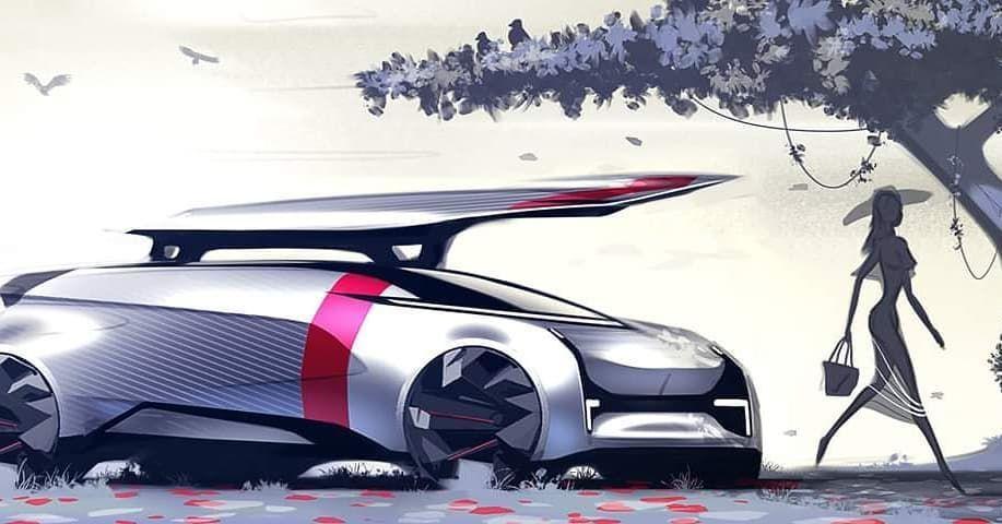 #cardesignsketch #cardesign #future #autonomous #sketch #designsketch #artwork #silouette
