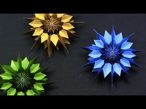 Photo of EASY DIY: Paper Snowflake DIY 3D – Yakomoga EASY D