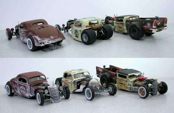 Custom Plastic Model Cars Custom Hot Rod Model Cars Hot Rods
