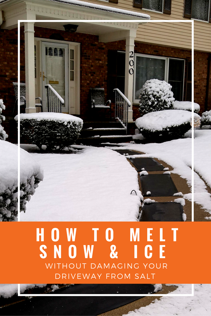 How to melt snow and ice without damaging your driveway from salt driveways can suffer harm from the use of deicing saltsevent damage to your driveway by learning how to melt snow and ice using non salt deicing solutioingenieria Gallery