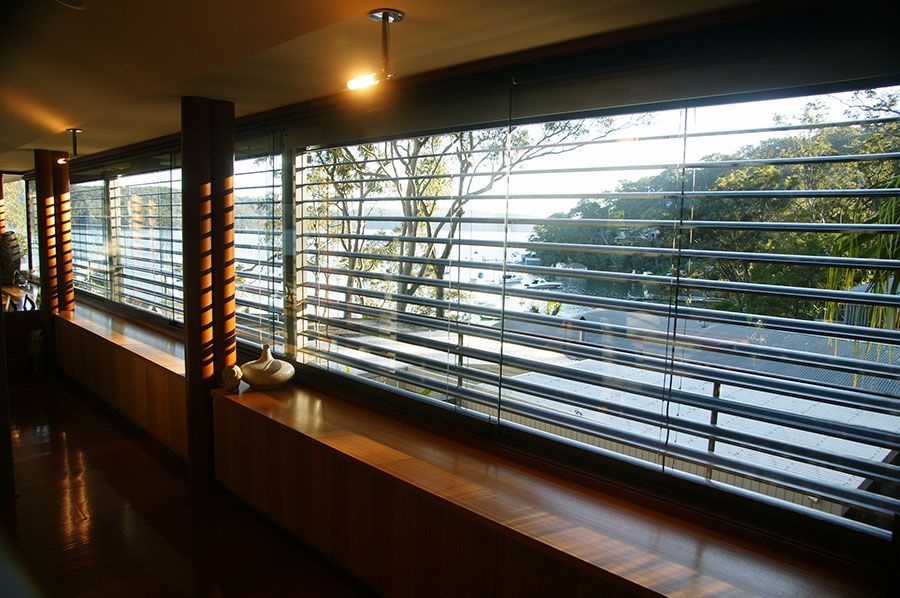 Residential Installations External Window Louvres Blinds