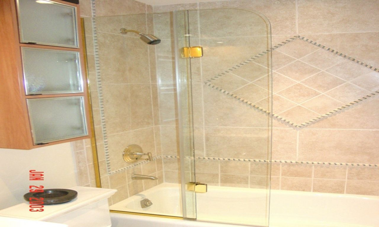 Shower Veil Trackless Tub Shower Doors Httpsourceabl
