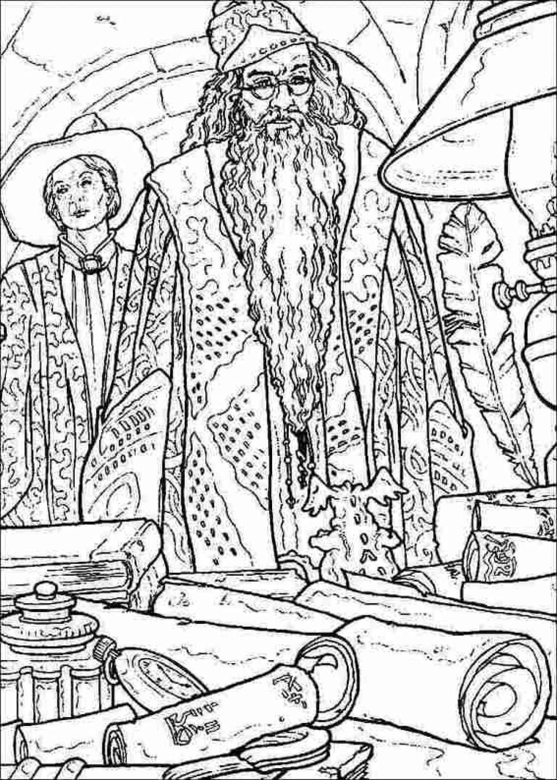 Harry Potter Printable Coloring
