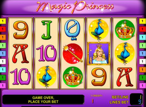 Pelata Magic Princess hedelmäpeli rahaa. Kirjautunut hedelmäpeli Magic Princess, valmistanut kehittäjät Novomatic yritys, kertoo prinsessa ja taika aarteita, jotka voidaan nähdä palatseja. Se on 5 kiekkoa, 9 voittolinjaa ja kannattava kuvakkeita, jotka sisältävät Wild symbolit ja Scatter. Myös Magic Princess kolikkopeli on riski pelitila