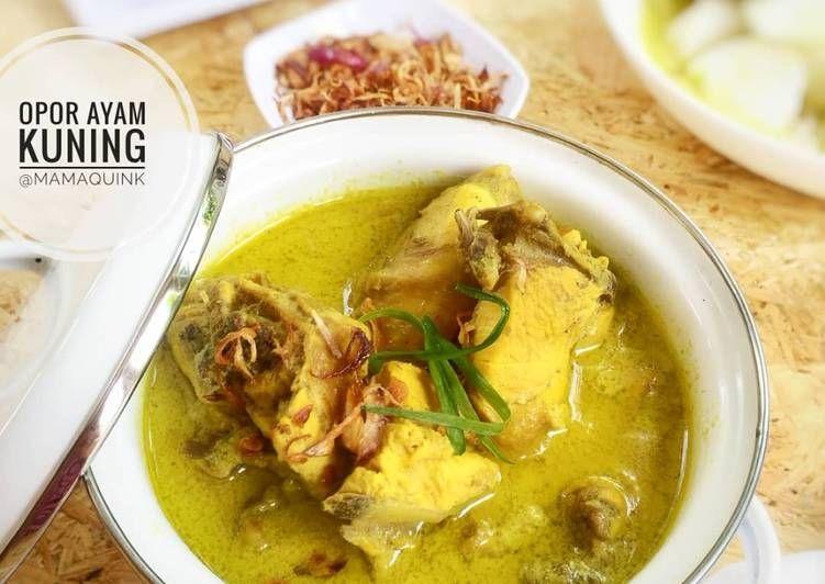 Gambar Cara Memasak Opor Ayam Kuning Resep Ayam Fotografi Makanan