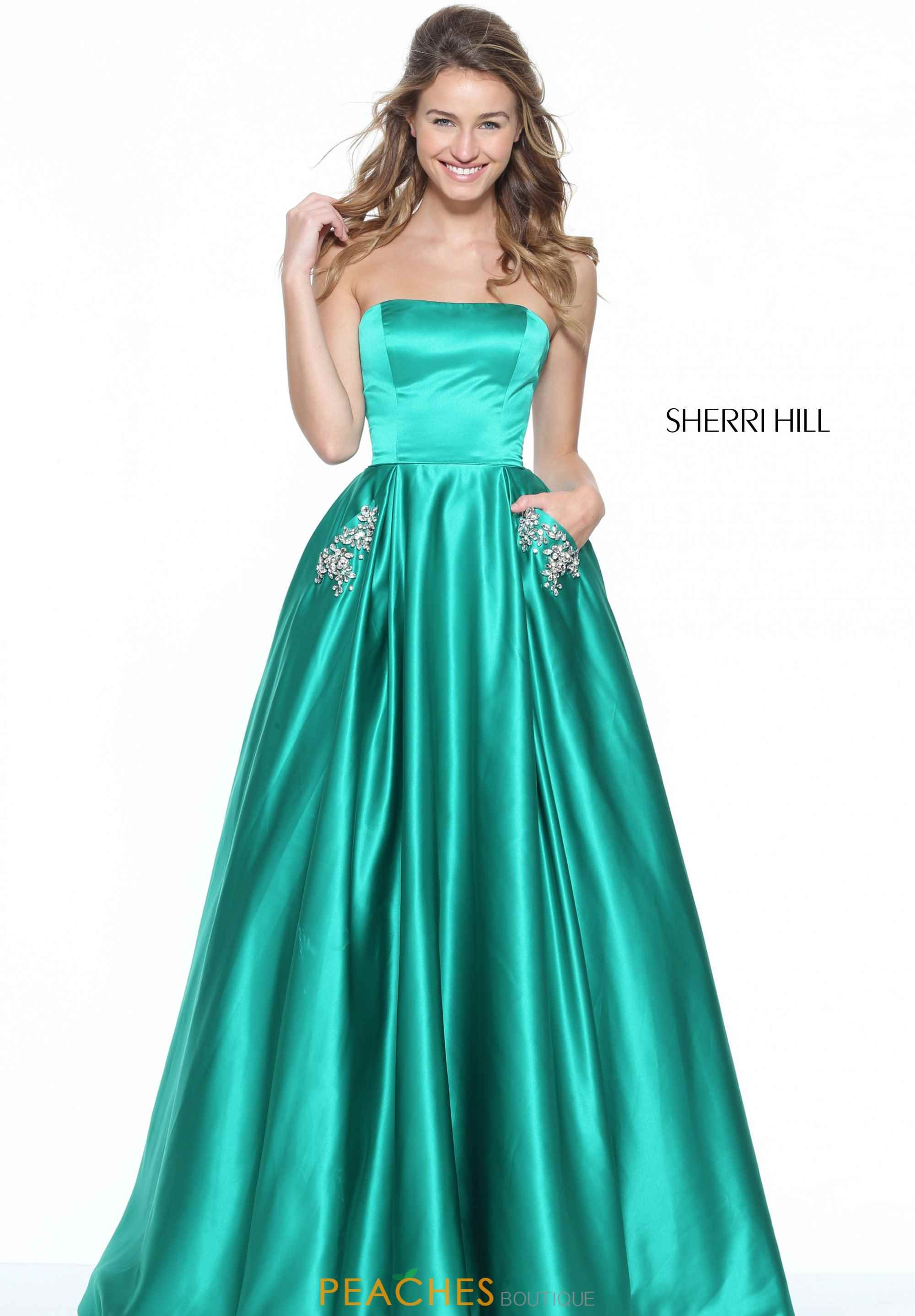 Sherri Hill 50812 Sherri Hill dresses are the most gorgeous dresses that  every girl wants to wear to Prom or Homecoming. Pure Couture Prom is one of  the top ...