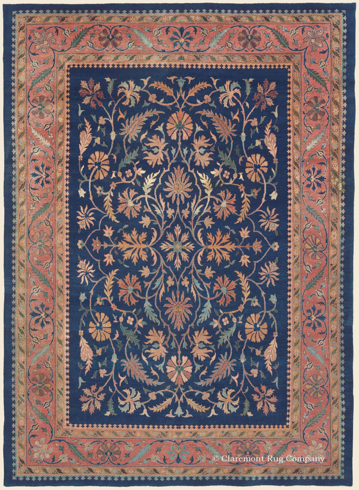 Agra 8 10 X 12 2 Circa 1900 Price 12 000 Northern India Antique Rug Claremont Rug Company Rugs Antique Rugs Claremont Rug Company