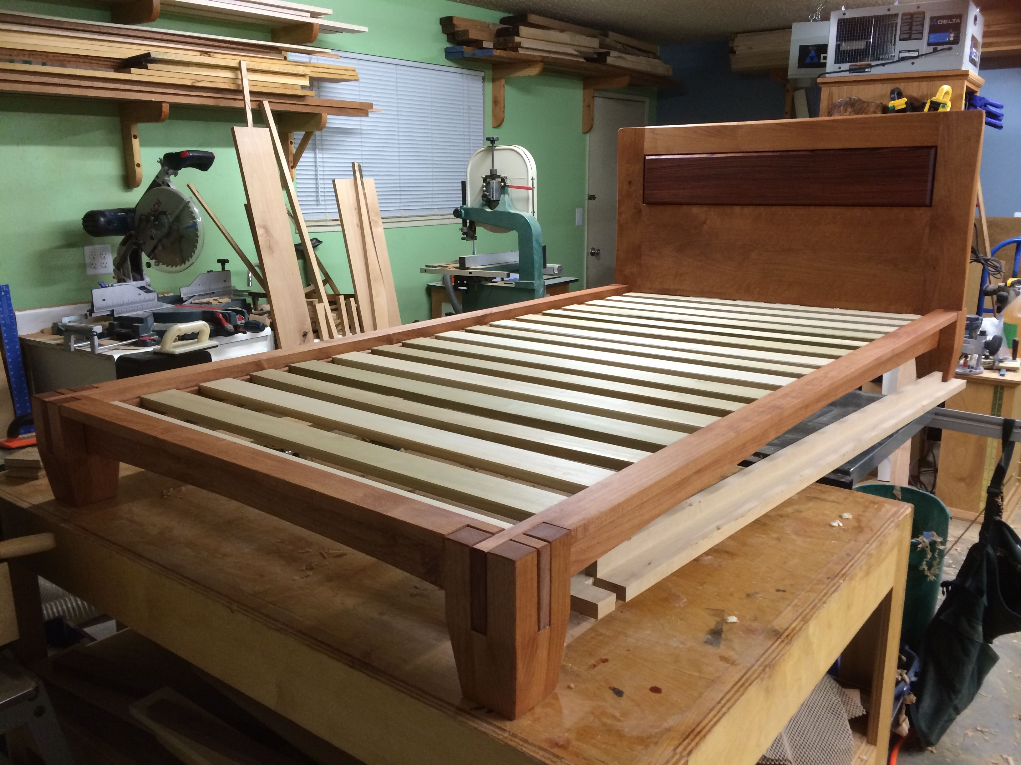 Diy Tatami Style Platform Bed With Able Plans