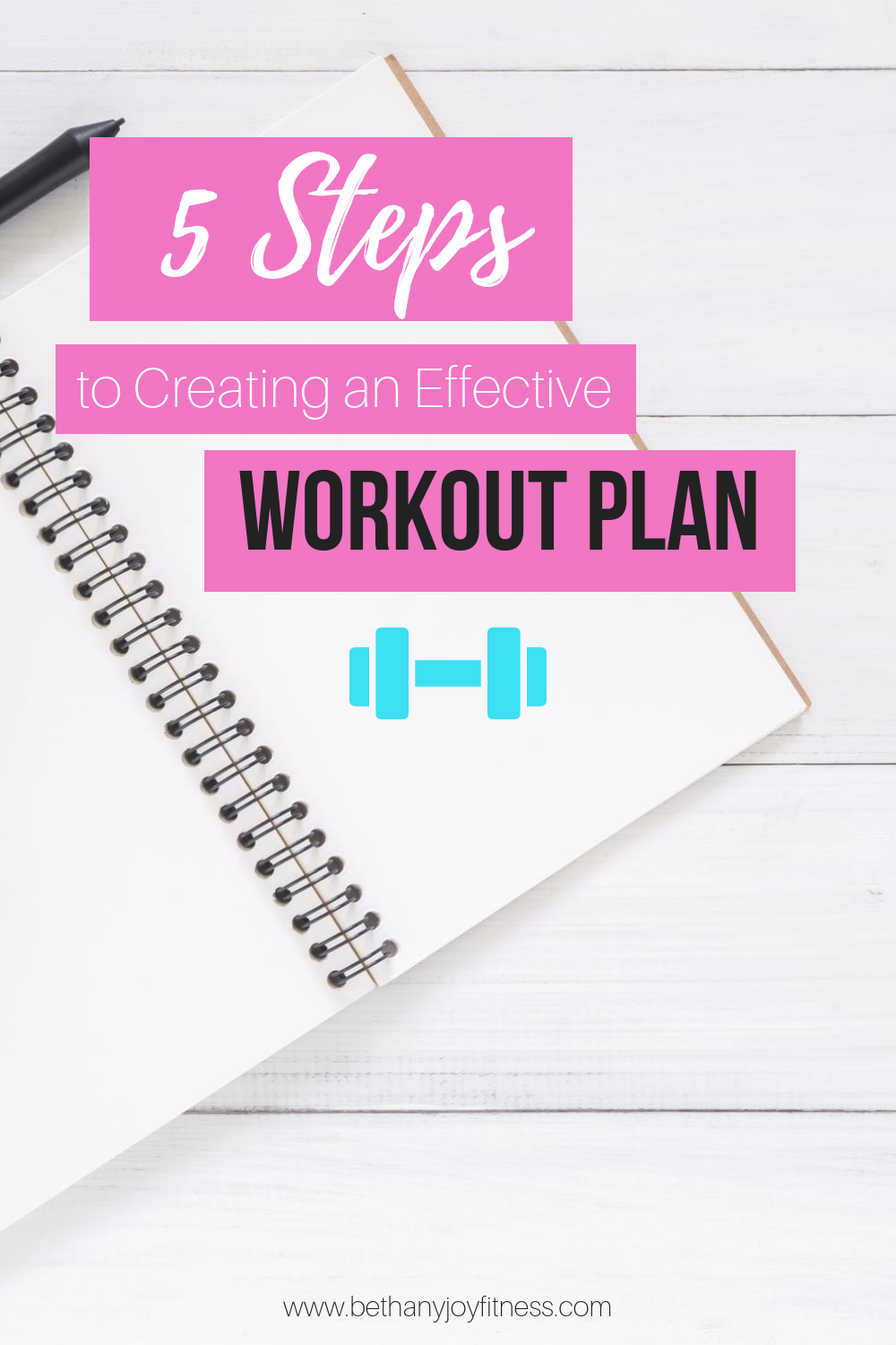 5 Steps to Creating an Effective Workout Plan #workoutplan
