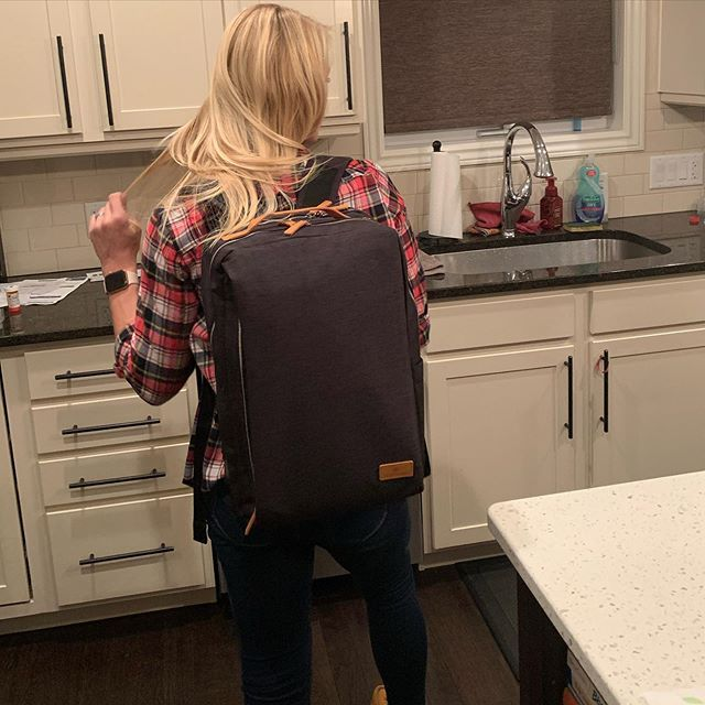 Siena - Smart Backpack #eyeshaveit
