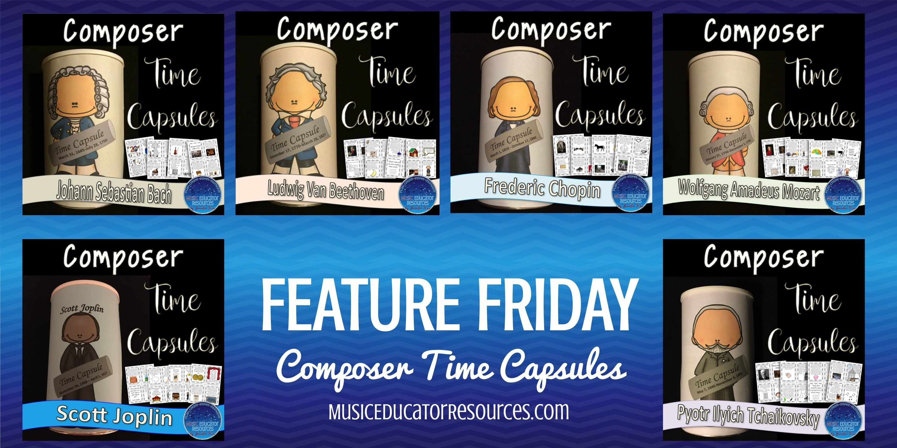 Composer Time Capsules An Engaging Way To Learn About