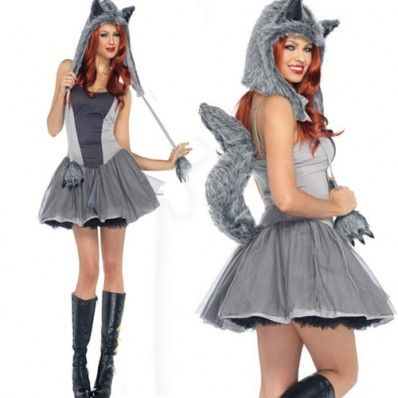 $29.90 Sexy Grey Wolf Womenu0027s Costume  sc 1 st  Pinterest & $29.90 Sexy Grey Wolf Womenu0027s Costume | Things to Remember ...