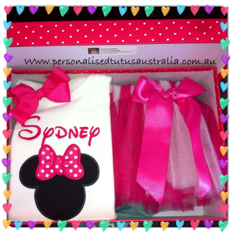Miss sydneys minnie mouse inspired birthday party outfit made by miss sydneys minnie mouse inspired birthday party outfit made by personalised tutus australia available in negle Images